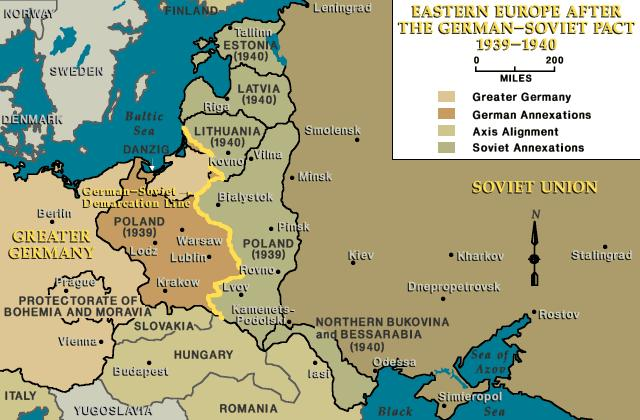 Eastern europe after the german soviet pact 1939 1940 eastern europe after the german soviet pact 1939 1940 geography world history world gumiabroncs Images