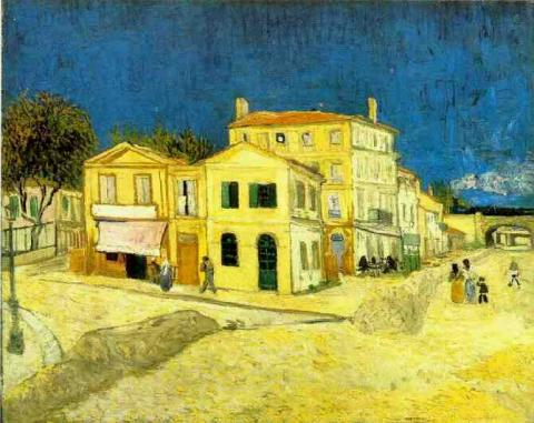 Vincent�۪s House in Arles (The Yellow House) Famous People Social Studies Visual Arts Nineteenth Century Life