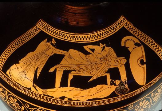 Image result for Hector ancient greek vase