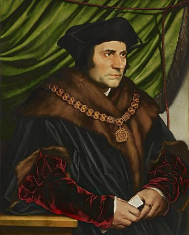Thomas More Becomes Lord Chancellor (Illustration) Medieval Times World History Visual Arts Philosophy Famous People Law and Politics Biographies