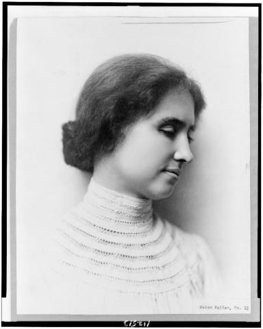 Photograph of Helen Keller In Her Youth