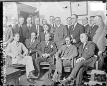 Photo of Prosecutors with Leopold and Loeb