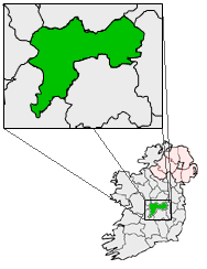 County Offaly - Map Locator Geography Social Studies