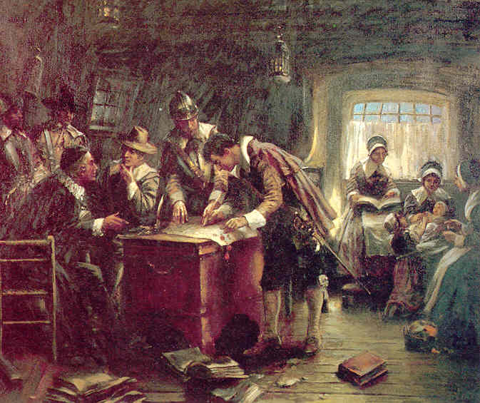 a history of the mayflower compact by separatist movements in colonial america Mayflower compact, the puritans experiment with socialism leading up to 1620, the religious climate of the world was changing the protestant reformation.
