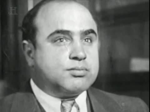the early struggles in life of al capone From al capone to bonnie and numerous attempts on his life dying at the hands of unidentified killers as part of a mafia power struggle in.