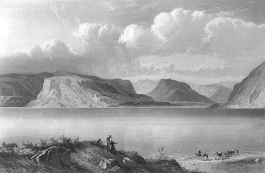 Calendar Illustration Questions : View of the sea galilee