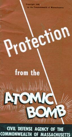 Protection from Atom Bomb - Massachusetts Warning Social Studies American History Cold War Medicine STEM Visual Arts