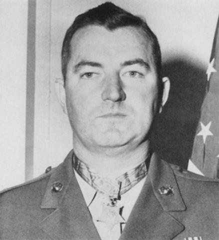 Capt Joseph J. McCarthy, Recognized by U.S. for Gallantry