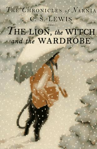 Lion, witch and the wardrobe book cover