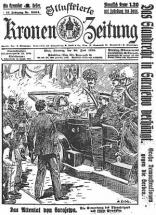 Newspaper Account of Archduke's Assassination