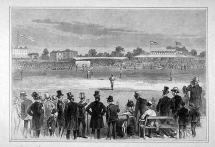 American Teams Playing Baseball in England