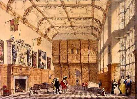 The Great Hall of Hatfield House Biographies Geography Visual Arts World History Social Studies