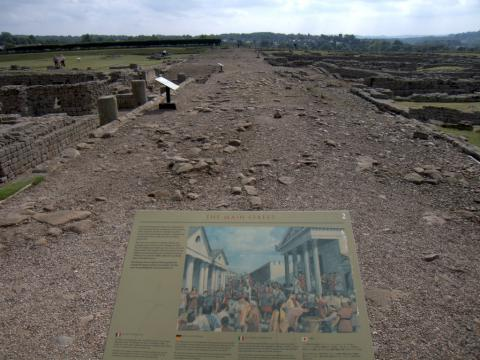 Stanegate Road Ancient Places and/or Civilizations Geography World History