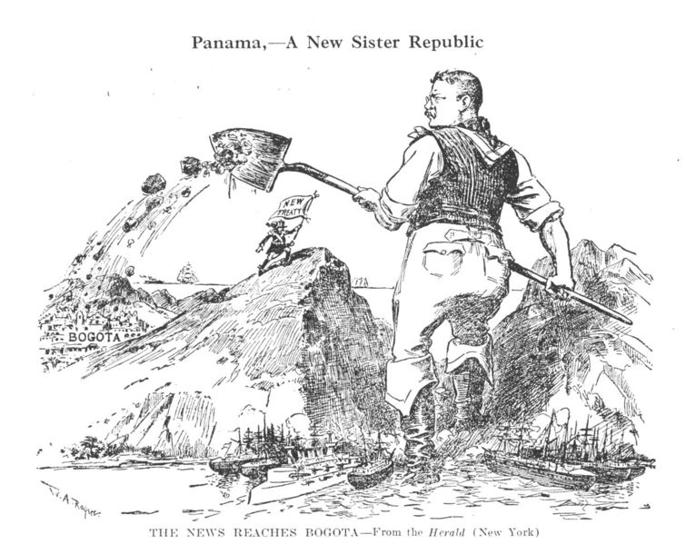theodore roosevelt and the panama canal