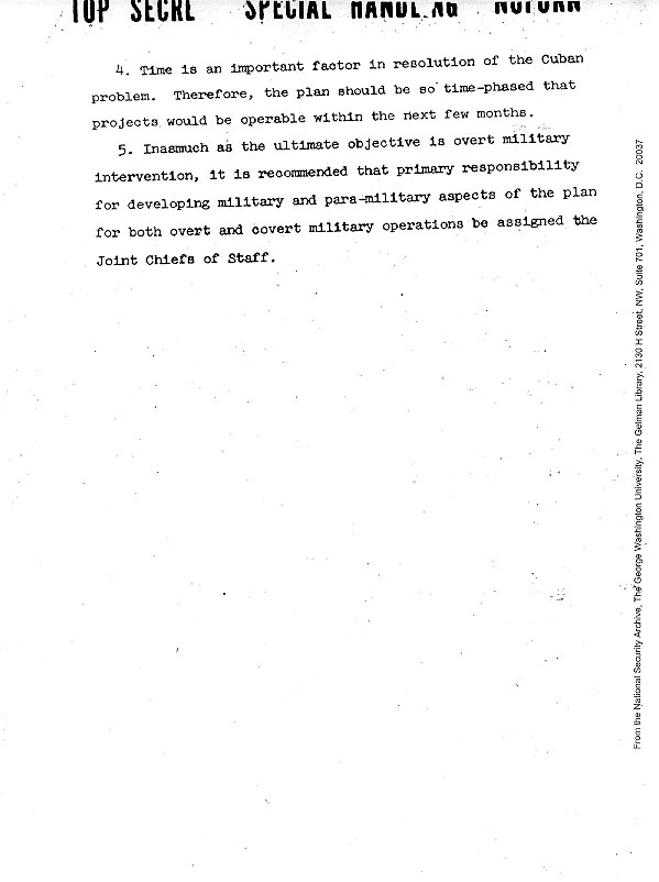 Memo: Justifying U S  Military Intervention in Cuba, Page 2
