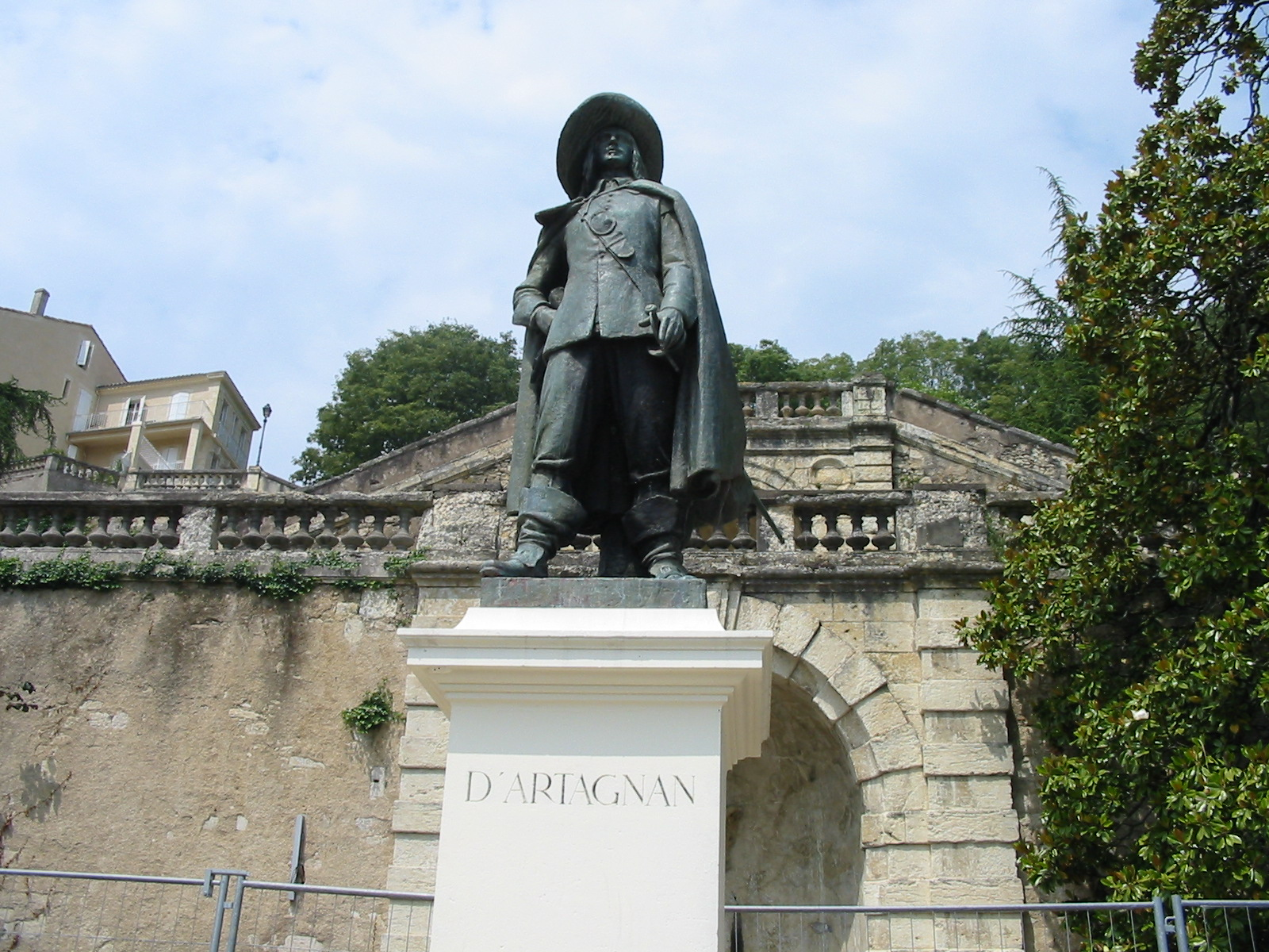 Auch France  City pictures : Statue of D'Artagnan located in Auch, France