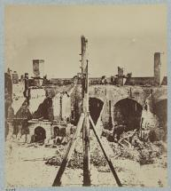 Fort Sumter in April of 1861
